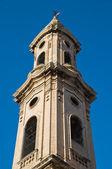 SS. Giuseppe ed Anna belltower church. Monopoli. Apulia. — Stock Photo