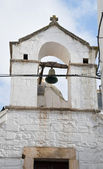 церковь святого stefano. путиньяно. апулия. — Стоковое фото