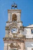 Clocktower. Martina Franca. Apulia. — Stock Photo