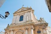 St. Giorgio Martyr Church. Locorotondo. Apulia. — Stock Photo