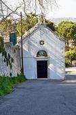 St. Mary of Providence Church. Martina Franca. Apulia. — Stock Photo