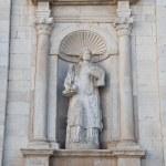 Marble statue. — Stock Photo