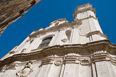 St. Pietro Church. Molfetta. Apulia. — Stockfoto