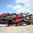 Stock Photo: Recycling Cars