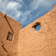 Kasbah in ouarzazate — Stock Photo