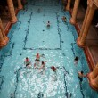 Bathhouse in Budapest — Stock Photo