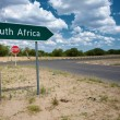 South Africa sign road — Stock Photo #5114262