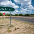Stock Photo: South Africsign road