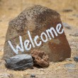 Welcome message — Stock Photo #5114288