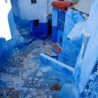 Stock Photo: Small street of chefchaouen