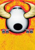 Bull plane — Stock Photo