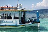 Het schip in de maldiven — Stockfoto
