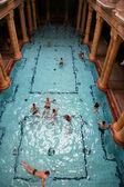 Bathhouse in Budapest — Stock Photo