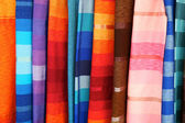 Colorful Fabrics — Stock Photo