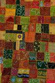 Moroccan fabrics — Stock Photo