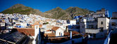 Panoramic view of Chaouen — Stock Photo