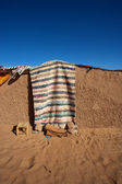 Traditional berber mud house — Stock Photo