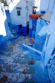 Small street of chefchaouen — Stockfoto