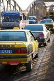 Traffico a saint louis — Foto Stock