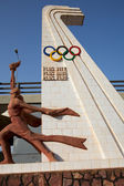 Olympic games sculpture — Foto de Stock