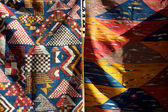 Moroccan fabrics — Stock Photo