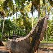 Traditional kerala fish boat — Stock Photo