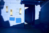 Small street of chefchaouen — Stock Photo