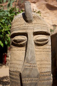 African Mask & artwork — Stock Photo