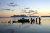 Lake in Patagonia — Stock Photo