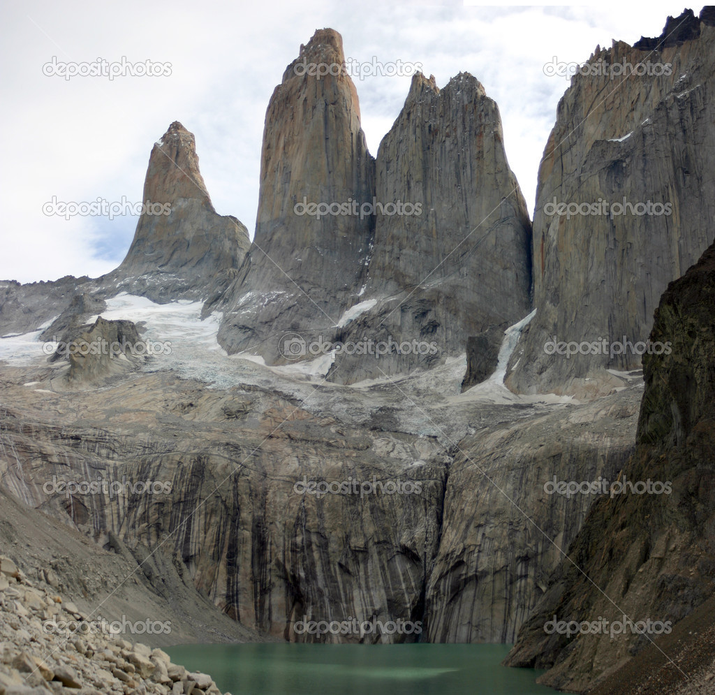 National parc Torres del paine in Chile — Stock Photo #5124134