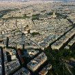 Stock Photo: Aerial view of Paris