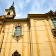 Stock Photo: Yellow church