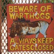 Stock Photo: Beware of warthogs