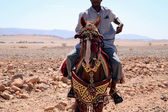 Moroccan riders — Stock Photo