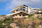 Villa on the cliff — Stock Photo