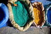 Assortmant marokańskich kolory — Zdjęcie stockowe
