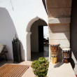 Riad in Morocco — Stock Photo