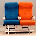 Aircraft seats — Stock Photo #5303766