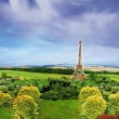 Eiffel tower in the countryside - Foto Stock