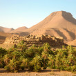 Постер, плакат: Berber village in the Atlas Mountains Morocco