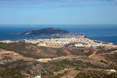 Panoramic view of la Ceuta in North Africa — Stock Photo