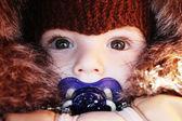 Portrait of baby — Stock Photo