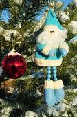 символ рождества, санта-клаус — Стоковое фото
