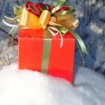 Box and ribbon — Stock Photo #4338236