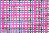 Fabric texture purple and pink — Stock Photo