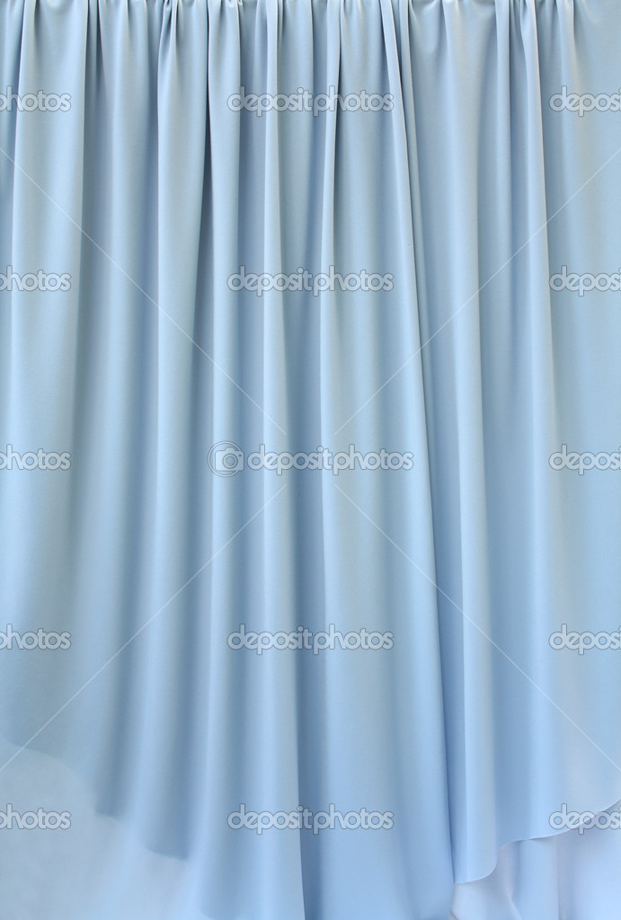 Blue grey curtain fabric background texture stock photo for Gray curtains texture