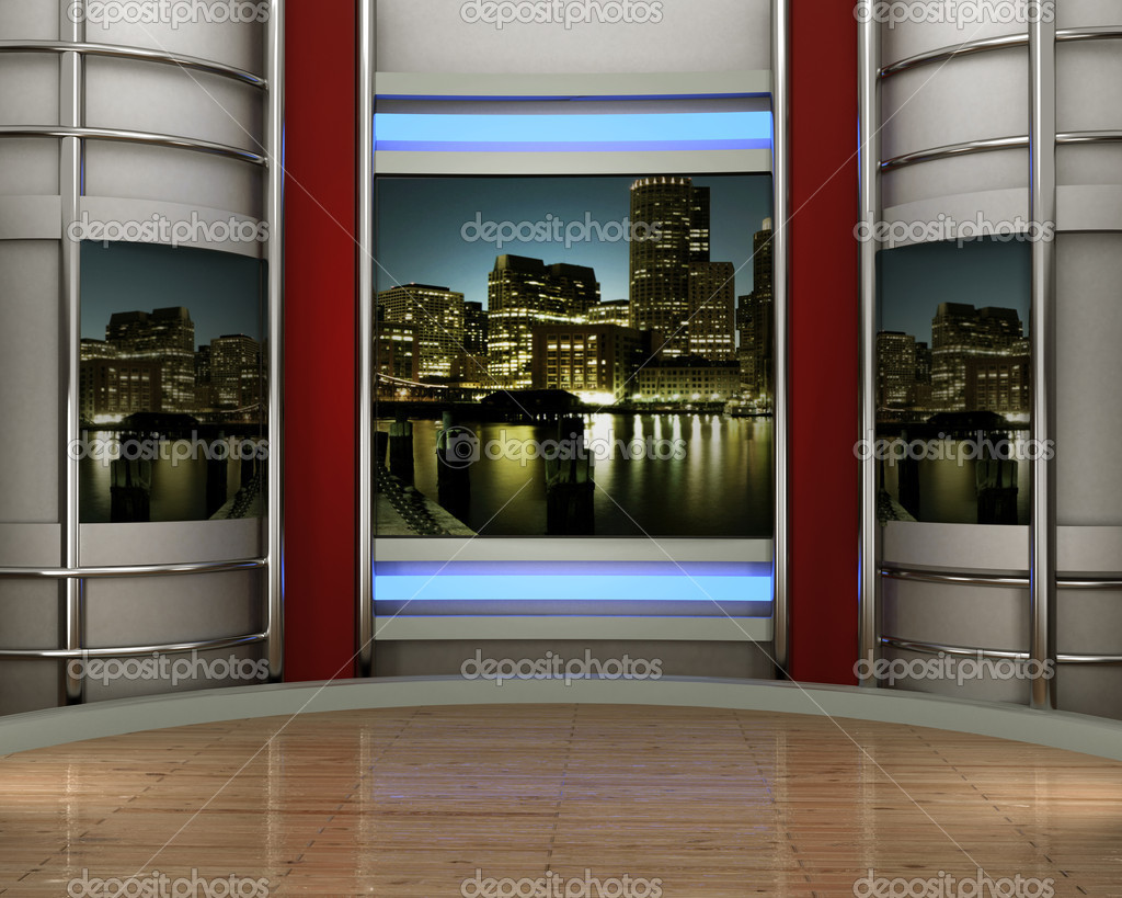 Studio tv for tv channel — Stock Photo #4954711