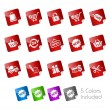 Royalty-Free Stock Vector Image: Shopping // Stickers Series