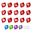 Medical // Stickers Series - Stock Vector