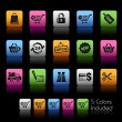 Shopping Icons // Colorbox Series — Stock Vector #5054417